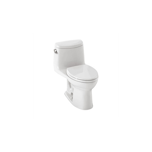 TOTO MS604114CEFG#01 UltraMax II Elongated 1-Piece Floor Mount Toilet (Cotton White)