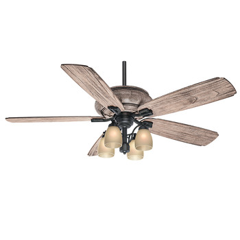 Casablanca 55052 60 in. Heathridge Tahoe Ceiling Fan with Light and Remote