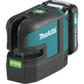 Makita SK105GDNAX 12V max CXT Lithium-Ion Cordless Self-Leveling Cross-Line Green Beam Laser Kit (2 Ah) image number 1