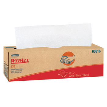 WypAll 05816 L30 120 Wipes/Box General Purpose Wipes (6-Pack)