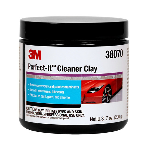 3M 38070 Perfect-It III Cleaner Clay 200 g image number 0