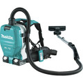 Makita XCV09PT 18V X2 LXT Lithium-Ion (36V) 5.0 Ah Brushless 1/2 Gallon HEPA Filter Backpack Dry Vacuum Kit image number 2
