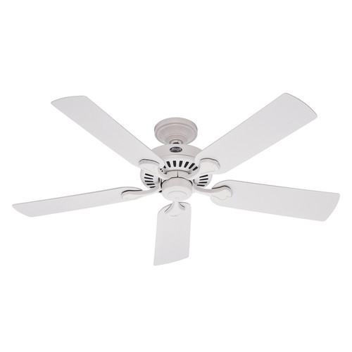 Factory Reconditioned Hunter CC59516 44 in. White Outdoor Ceiling Fan