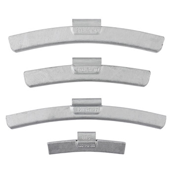 AMMCO BTSFE600 25-Piece BTSFE Coated Steel 6 oz. Clip-On Wheel Weight Set