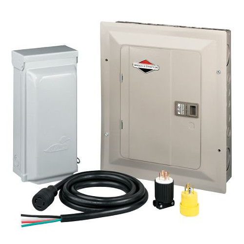 Briggs & Stratton 71014 30 Amp Manual Transfer Switch for 7 kW PowerNow Generators image number 0