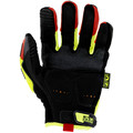 Mechanix Wear SMP-X91-010 Hi-Viz M-Pact D4-360 Gloves - Large, Fluorescent Yellow image number 1