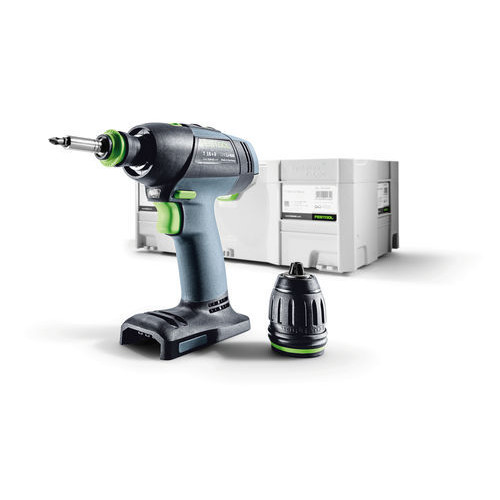 Festool T18 18V 5.2 Ah Cordless Lithium-Ion Mid-Handle Drill Driver (Bare Tool)
