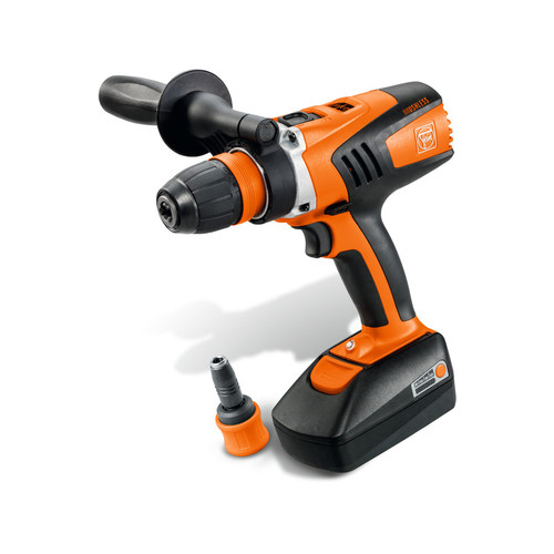 Fein ASCM 18 QXC 18V Brushless Cordless Lithium-Ion Compact Drill Driver with Interchangeable Chuck