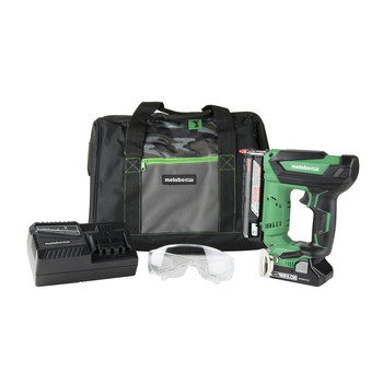 Factory Reconditioned Metabo HPT NP18DSALM 18V Cordless 1-3/8 in. 23-Gauge Pin Nailer Kit