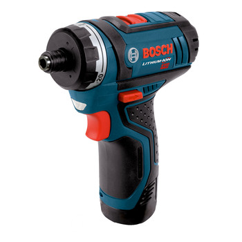 Bosch PS21-2A 12V Max Lithium-Ion 2-Speed 1/4 in. Cordless Pocket Driver Kit (2 Ah)