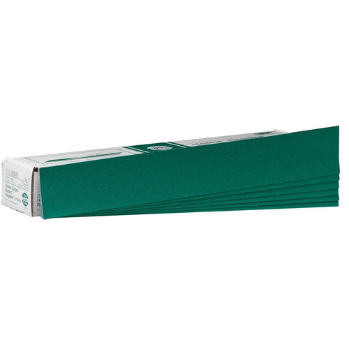 3M 538 Green Corps Hookit Regalite Sheet 2-3/4 in. x 16 1/2 in. 100E (50-Pack)