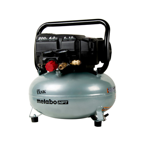 Metabo HPT EC914SM THE TANK 1.3 HP 6 Gallon Portable Pancake Air Compressor image number 0