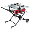 General International TS4004 10 in. Commercial Benchtop & Portable Table Saw on Wheels image number 0