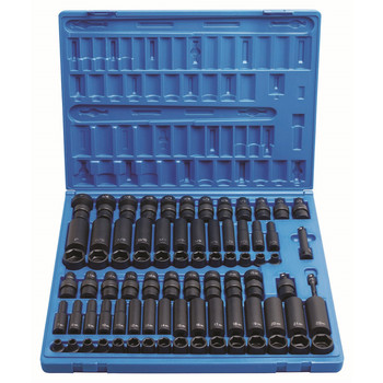 Grey Pneumatic 1281 81-Piece 3/8 in. Drive Complete Socket Set