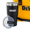 Dewalt DXC1013B 10 Quart Roto-Molded Lunchbox Cooler/ 10 Quart Ice Pack Cooler/ 30 oz. Black Tumbler Combo image number 3