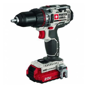 Porter-Cable PCC606LA 20V MAX Lithium-Ion High-Performance 1/2 in. Cordless Drill Driver Kit