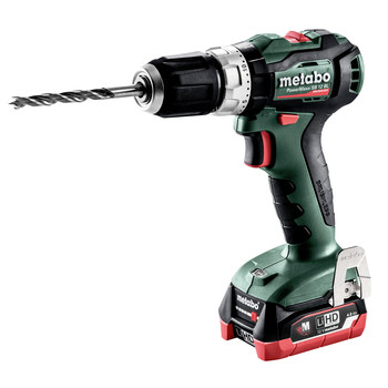 Metabo 601077520 12V PowerMaxx SB 12 BL LiHD Brushless Compact 3/8 in. Cordless Hammer Drill Driver Kit (4 Ah) image number 0