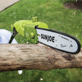 Sun Joe SWJ803E 8 Amp 10 in. Multi-Angle Pole Chain Saw (Green) image number 4