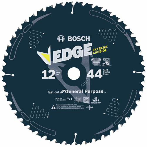 Bosch DCB1080 Daredevil 10 in. 80 Tooth Circular Saw Blade for Laminate and Melamine