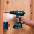 Makita XPH10R 18V Lithium-Ion Compact Variable 2-Speed 1/2 in. Cordless Hammer Drill Driver Kit (2 Ah) image number 5