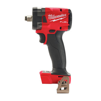Milwaukee 2855-20 M18 FUEL Lithium-Ion Brushless Compact 1/2 in. Cordless Impact Wrench with Friction Ring (Tool Only)