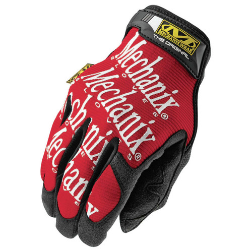 Mechanix Wear MG-02-010 The Original Work Gloves - Large, Red (1 Pair) image number 0
