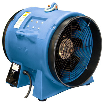 Americ VAF8000B-3 6.5 Amp 20 in. High Capacity Confined Space Ventilator