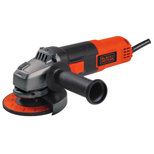 Black & Decker BDEG400 4-1/2 in. 6.0 Amp Small Angle Grinder