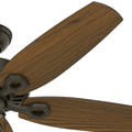 Hunter 53292 52 in. Builder Elite Damp New Bronze Ceiling Fan image number 3