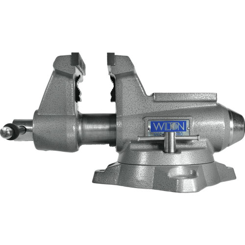 Wilton 28811 855M Mechanics Pro Vise with 5-1/2 in. Jaw Width, 5 in. Jaw Opening and 360-degrees Swivel Base image number 1