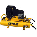 Dewalt DXCMTA1980854 1.9 HP 8 Gallon Oil-Lube Twin Tank Wheelbarrow Air Compressor