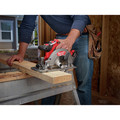 Milwaukee 2730-21 M18 FUEL Cordless 6-1/2 in. Circular Saw with REDLITHIUM Battery image number 6