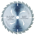 Hitachi 725213B50 7-1/4 in. 24 Tooth Tungsten Carbide Tipped ATB Framing and Ripping Circular Saw Blade 50-Pack
