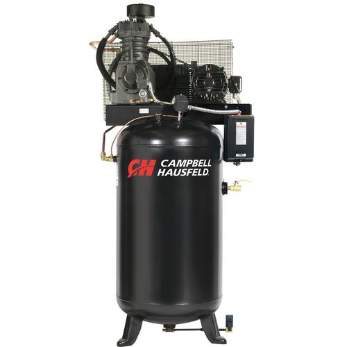 Campbell Hausfeld CE7050FP 5 HP Two-Stage 80 Gallon Oil-Lube Fully Packaged Stationary Vertical Air Compressor