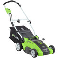 Greenworks 25142 10 Amp 16 in. 2-in-1 Electric Lawn Mower image number 1