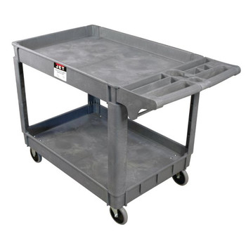 JET PUC-3117 31-1/8 in. x 17-1/8 in. PUC Series Heavy-Duty Resin Service Cart