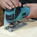 Factory Reconditioned Makita 4351FCT-R Barrel Grip Jigsaw with LED Light image number 7