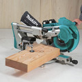 Makita XSL07PT 18V X2 LXT Lithium-Ion (36V) Brushless Cordless 12 in. Dual-Bevel Sliding Compound Miter Saw Kit with Laser (5 Ah) image number 19