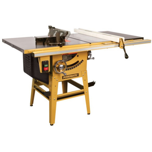 Powermatic 64B 1-3/4 HP 10 in. Single Phase Left Tilt Table Saw with 30 in. Accu-Fence and Riving Knife