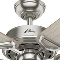 Hunter 53419 52 in. Viola Ceiling Fan with Light (Brushed Nickel) image number 8