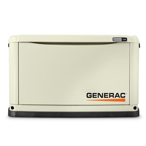 Generac 70311 Guardian Series 11/10 KW Air-Cooled Standby Generator with Wi-Fi, Aluminum Enclosure image number 0
