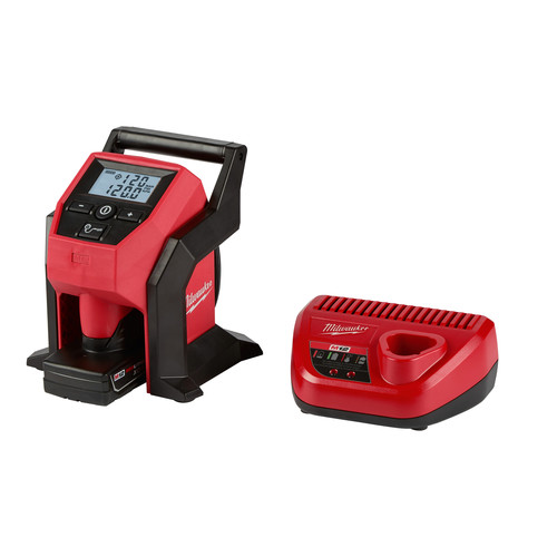 Milwaukee 2475-21XC M12 Compact Inflator Kit image number 0