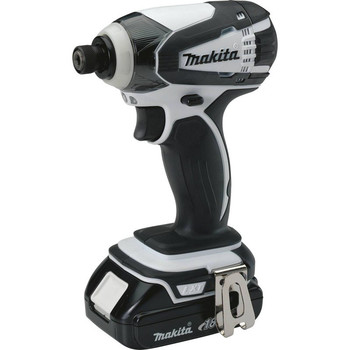 Factory Reconditioned Makita XDT04CW-R 18V 1.5 Ah Cordless Lithium-Ion 1/4 in. Hex Compact Impact Driver Kit image number 1