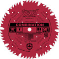 Freud LU84R011 10 in. 50 Tooth Combination Saw Blade
