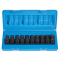 Grey Pneumatic 1610UM 10-Piece 3/8 in. Drive 12-Point Metric Universal Impact Socket Set image number 1