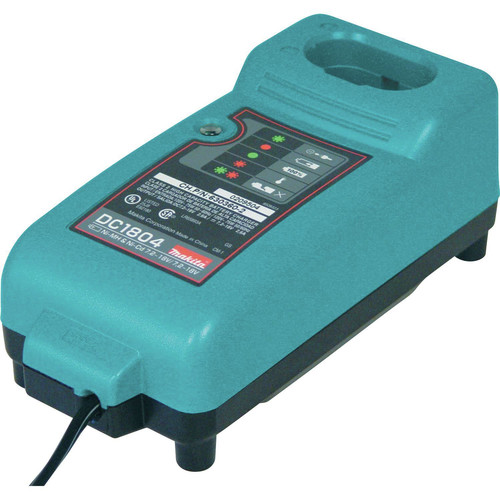 Makita DC1804 7.2V - 18V Multi-Chemistry Charger for Ni-MH and Ni-Cd Batteries