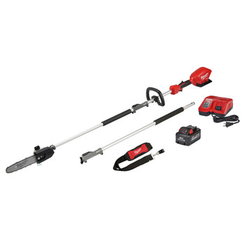 Milwaukee 2825-21PS M18 FUEL 10 in. Pole Saw Kit with QUIK-LOK