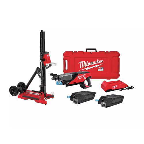 Milwaukee MXF301-2CXS MX FUEL Lithium-Ion Handheld Core Drill Kit with Stand image number 0
