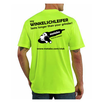 Metabo US2068 Winkelschleifer High-Visibility T-Shirt - L