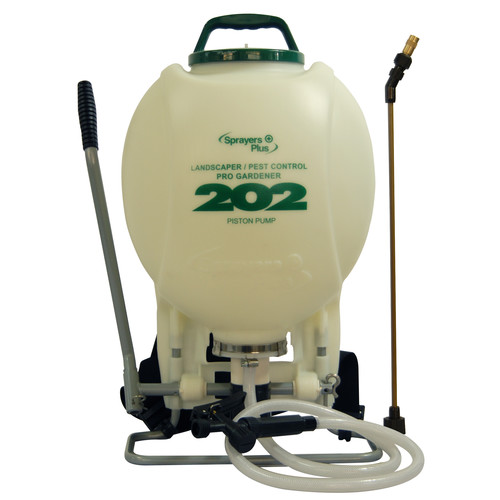 Sprayers Plus 202 4 Gallon Pro Gardener Backpack Sprayer with External Piston Pump image number 0